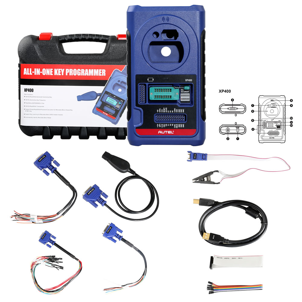 Autel XP400 full kit